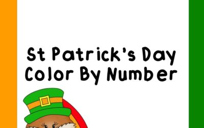 St Patrick's Day Color By Number