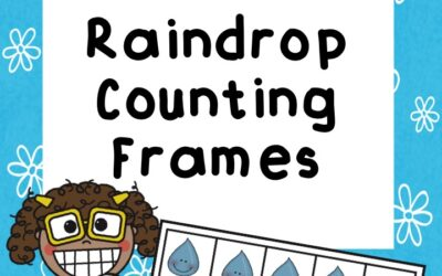 Raindrops Counting Frames