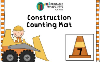Construction Counting Mat